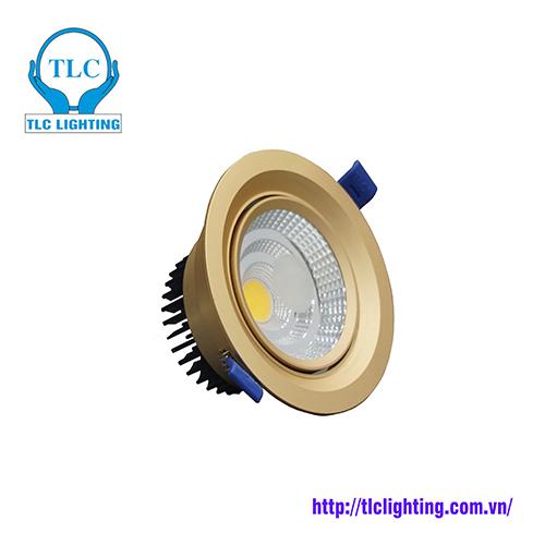 Đèn Led âm Trần đơn Cob 7w Tlc Lighting